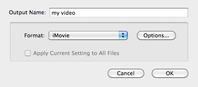 import m2ts to imovie